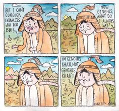 Genghis' Problem
