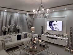 Living room ideas and inspiration! - Architecture and Home Decor - Bedroom - Bathroom - Kitchen And Living Room Interior Design Decorating Ideas - Glam Living Room, Interior, Home Decor, Room Inspiration, Living Room Interior, House Interior, Apartment Decor, Room Decor, Living Decor
