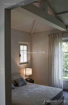 Interior attic bedroom modern design pictures
