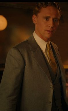 Tom Hiddleston as Scott Fitzgerald