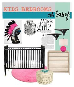 """""""Baby Room"""" by bjigg ❤ liked on Polyvore featuring interior, interiors, interior design, home, home decor, interior decorating, VerPan, TOM TAILOR, DaVinci and Calypso St. Barth"""