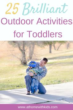 Do you find it completely overwhelming to get outside with your toddler? Don't miss these easy outdoor activities for toddlers so you can enjoy getting outside without the stress and headache that often comes with.