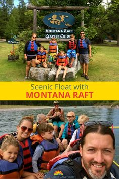Looking to hit the rapids by Glacier National Park? Check out Montana Raft! via @Crazy Family Adventure