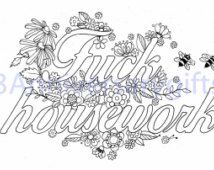swearing coloring pages - Google Search