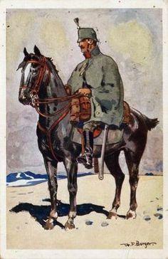 More Swiss cavalry...