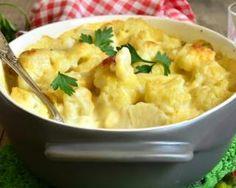 Gratin de chou fleur persillé au comté : http://www.fourchette-et-bikini.fr/recettes/recettes-minceur/gratin-de-chou-fleur-persille-au-comte.html