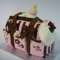 Finest Baby Shower Cakes For Girls