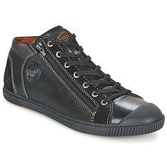 fantastische Pataugas bumper heren sneakers (Zwart)