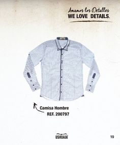 Camisa Hombre Ref 200797 Talla: S-M-L-XL-XXL