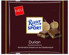 RITTER SPORT Fake Schokolade Stinkefrucht