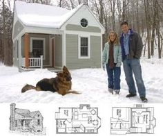 Building a Small Home . . . . this is what I picture on my homestead, at least to start.