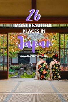 In this article you can find the 26 most beautiful places in Japan, which can make planning your itinerary easier – or perhaps it will even make it more difficult!  In this enchanting country you can find the perfect blend of history, cultural heritage and modern comfort.  Use this list as inspiration for your trip to Japan. #Japan #Wanderlust