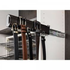 Belts, Shoes & Ties - Closet Organizers - Organizers