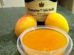 Peach Champagne Jam