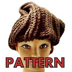 Spider-Man crochet hat+scarf set PATTERN red, spider PDF