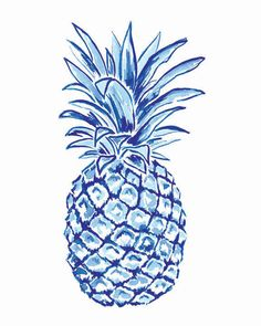 Skyler Navy Pineapple Society Social Pop Up with Laura Dro