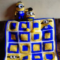 If you have a Minion fan in the family they're going to love this collection of FREE Granny Square Crochet Patterns we've put together for you! Make all sorts of things including a beautiful blanket …