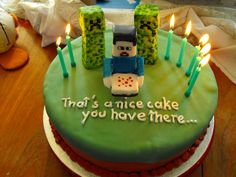 Minecraft cake for Austin's B-day    Google Image Result for http://www.prot3us.nildram.co.uk/pics/misc/Minecraft_Cake.jpg