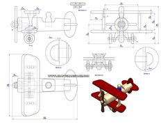 Using drawings provided in this woodworking plan you can make a Vintage toy plane. Intarsia Wood Patterns, Wood Carving Patterns, Wood Toys Plans, Wood Plans, Barn Plans, Woodworking Furniture Plans, Woodworking Books, Woodworking Workbench, Woodworking Classes