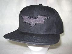 Batman Dark Knight Flat Bill Hat Cap Movie Comic Book Dccomics Apparel New G5   eBay