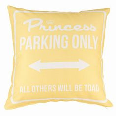 Princess Parking Only Large Giallo by Carillon design