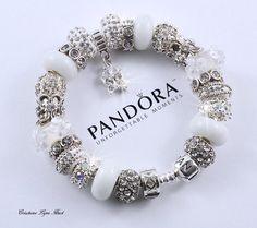 Véritable Bracelet PANDORA en argent sterling par CreationsLyneHuot