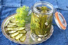 Pickles, Cucumber, Mason Jars, Food, Essen, Mason Jar, Meals, Pickle, Yemek