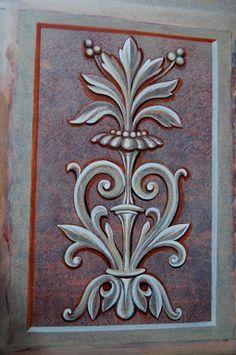 Aluminum Foil Art, Byzantine Icons, Paint Effects, Illusion Art, Orthodox Icons, Stencil Designs, Mural Art, Illusions, Stencils
