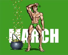 My Lucky Birthday Month...Mr March by MrOrozco.deviantart.com