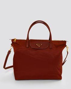 Product Name Prada BNWT Tessuto Saffiano Shopping Tote, 10/10 Condition at Modnique.com