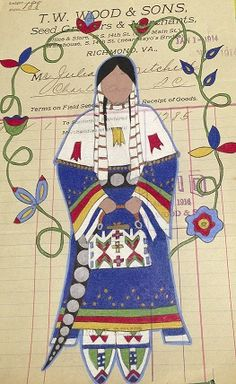 Lakota - Plains indians In the Moment, ledger drawing by Avis Charley, small version Native American Baskets, Native American Pictures, Native American Artwork, Native American Artists, American Indian Art, Native American History, Native American Indians, Native Americans, Plains Indians
