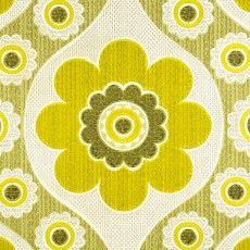 Vintage Geometric Large Pattern Retro Wallpaper