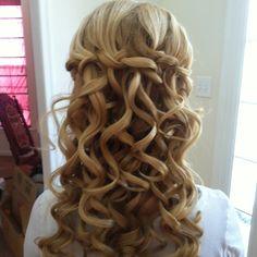 www.creationsbymia.com  Wedding hair up-do