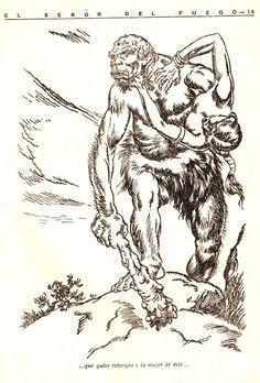 El Desván del Abuelito: El señor Coll y los Monstruos