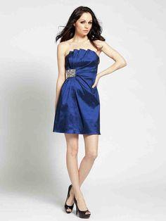 Deep Blue Bridesmaid Dresses