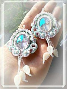 Orecchini soutache  Soutache earrings