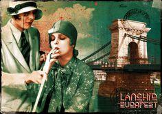 Postcard - Budapest - Chain-Bridge. Ft400.00, via Etsy.