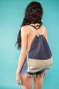 "Gym Bag ""Blue Quilt""  49 EUR"