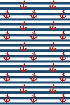 Birthday background wallpapers we heart it 47 Ideas Anchor Wallpaper, Nautical Wallpaper, Iphone Wallpaper, Birthday Background Wallpaper, Paper Background, Background Patterns, Striped Background, Deco Marine, Nautical Party