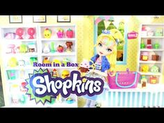 My Froggy Stuff: How to Make a Shopkins Doll Room in a Box Toddler Arts And Crafts, Crafts For Kids, Doll Crafts, Diy Doll, My Froggy Stuff Videos, Myfroggystuff, Barbie Miniatures, Barbie Accessories, Barbie House