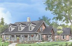 Home Plan The Lowell by Donald A. Gardner Architects
