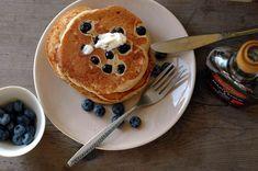 Year of mornings. Blueberry pancakes