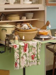 1950's baking vintage style