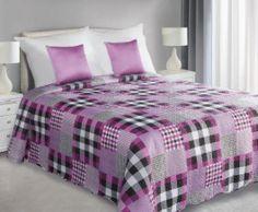Přehoz na postel   - HAYLEY růžový