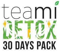 The TeaMi Detox Tea Pack is a 30 day program that will help you kick start your weight loss! No skipping meals or starving yourself! TeaMi Detox tea will completely change how your body looks and feels in just 30 days!