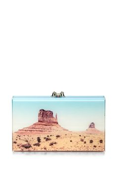 Shop Canyon Panoramic Pandora Clutch by Charlotte Olympia Now Available on Moda Operandi