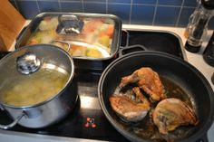 Pot au feu von der Perlhuhnbrust mit Fois-Gras Sauce L´Onde Pork, Chicken, Meat, Separate, Viajes, Cooking, Recipes, Kale Stir Fry, Pigs