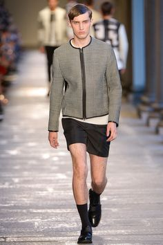 Neil Barrett Spring 2014 Menswear Collection Slideshow on Style.com