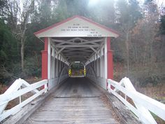 Jackson's Mill Covered Bridge  Bedford Co, PA