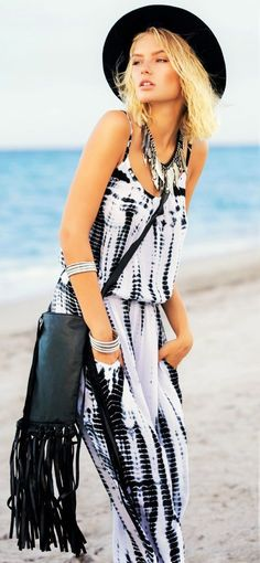 573c2810820 Sophisticated boho tie dye jumpsuit - perfect for summer!